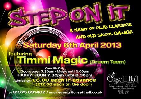 Step-On-It-III-mini flyer