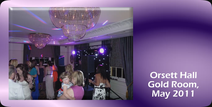 Orsett Hall Gold Room